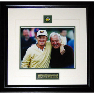 Jack Nicklaus and Arnold Palmer 8x10-inch Frame