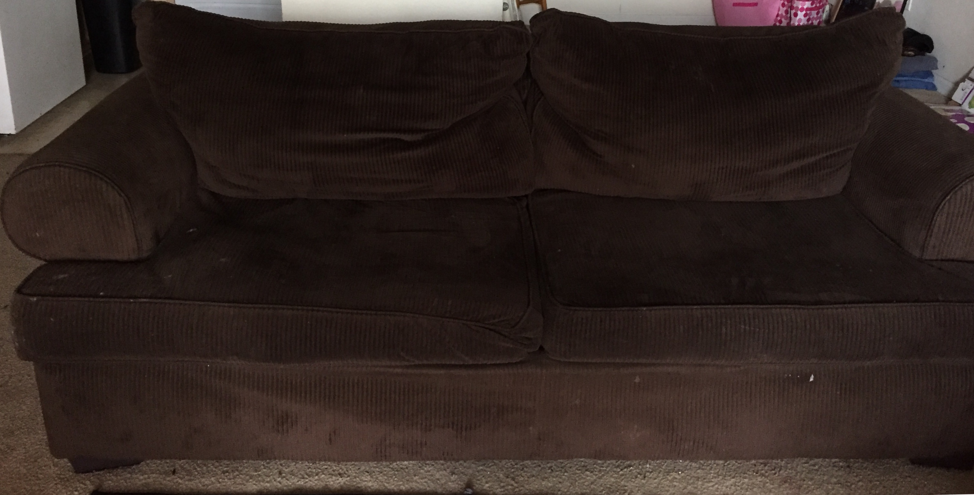 Choclate Brown Sofa