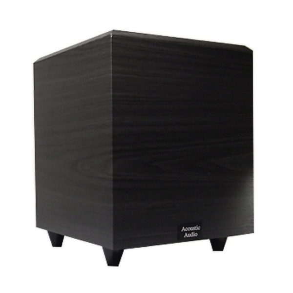 Acoustic Audio Black RWSUB-6 Down Firing Powered Subwoofer